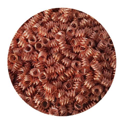 Спирально призматическая насадка (СПН) 3,5 мм медная, 0,5 кг