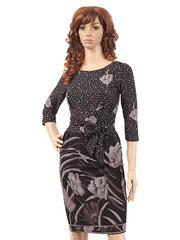 18-1 платье женское, черное