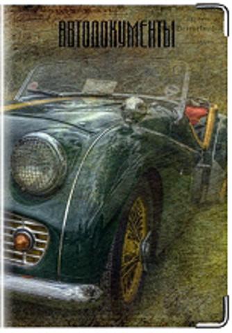"""Обложка для водительских удостоверений """"Ретро"""" (3)"""