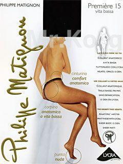 Колготки Philippe Matignon Premiere Vita Bassa 15