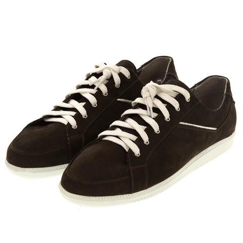 649396 полуботинки мужские шоколад. КупиРазмер — обувь больших размеров марки Делфино