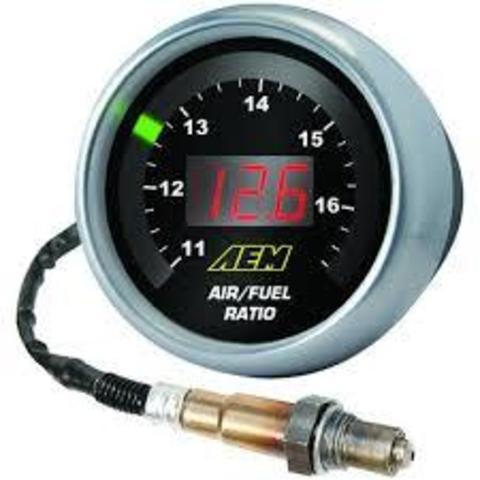 AEM UEGO: : Широкополосная лямбда с 52мм индикатором.