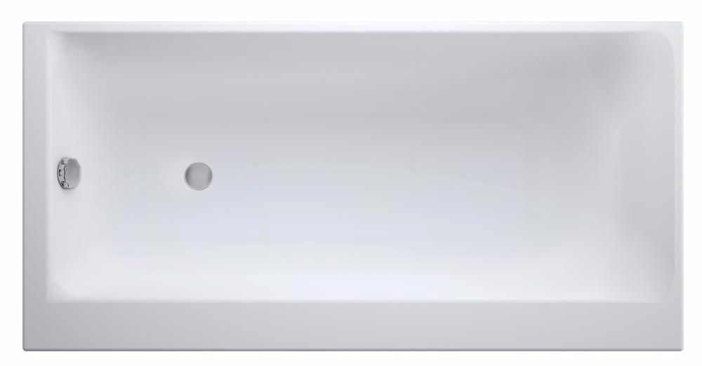 Ванна акриловая Cersanit SMART 170*80, левая