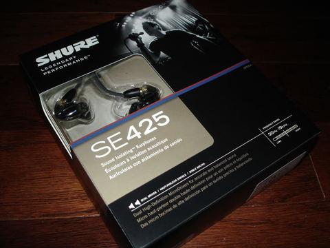 Наушники Shure SE425