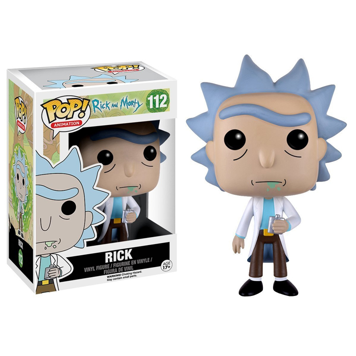Фигурка FunkoPOP! Rick and Morty «Rick / Рик»