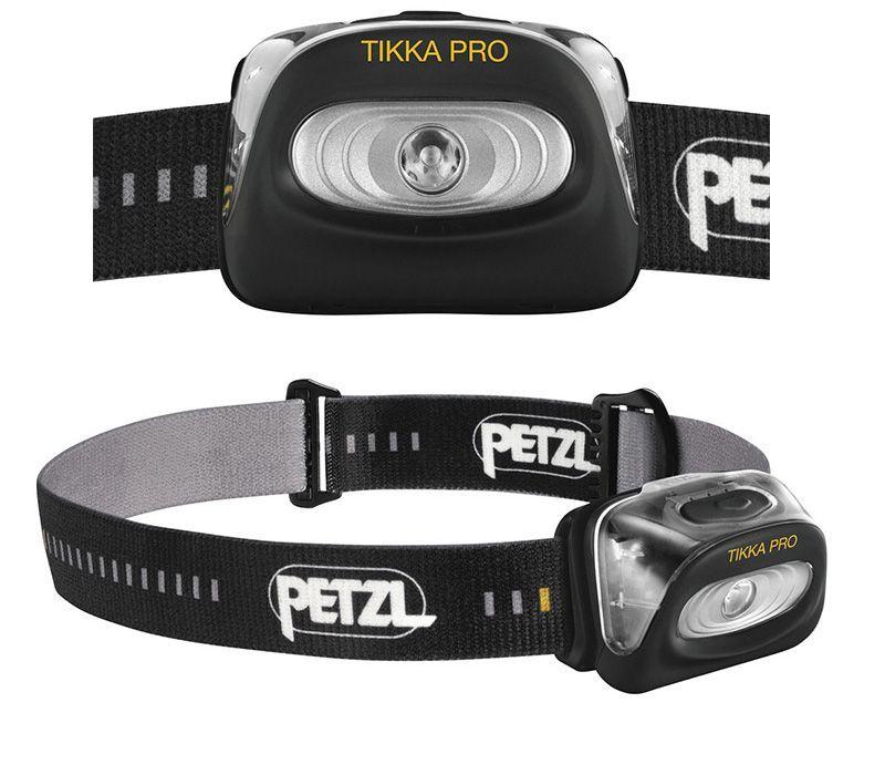 светодиодный фонарь Petzl TIKKA PRO черный заказать