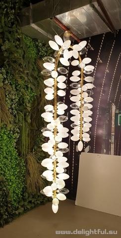 Linsday Audelman KINGDOM KDD.44.01 - 2 replica chandelier