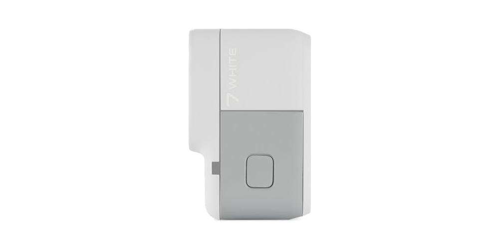 Запасная крышка GoPro Replacement Door HERO7 White (ATIOD-001) с камерой вид сбоку