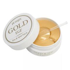 Petitfee Gold And EGF Eye Spot Patch - Гидрогелевая патчи для кожи вокруг глаз с золотом и EGF