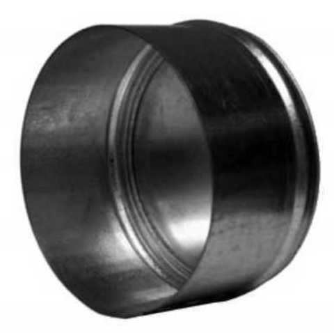Заглушка D150 оцинкованная сталь