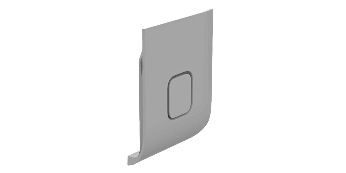 Запасная крышка GoPro Replacement Door HERO7 White (ATIOD-001) без камеры
