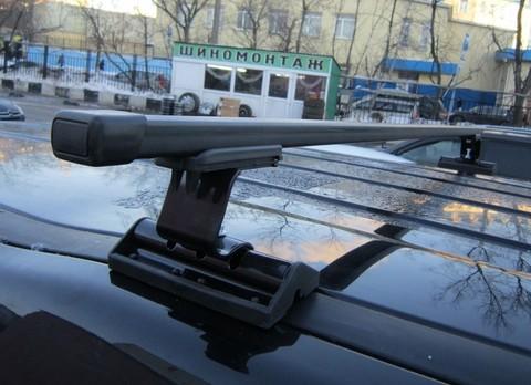 Багажник Интер С-15 в штатные места с прямоугольной поперечиной 120 см.