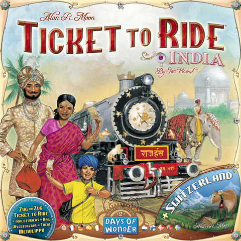 Ticket to Ride - Map Collection Vol. 2: India