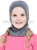Шлем-маска (балаклава) с шерстью мериноса Norveg Soft Grey детская