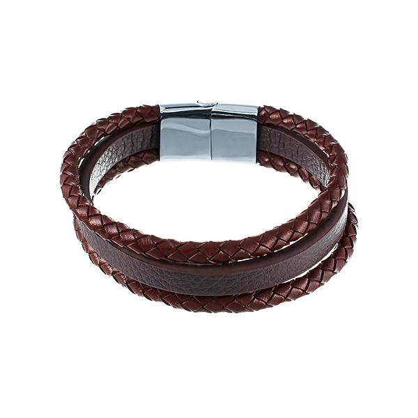 Кожаный браслет JV 149-0142