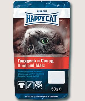 Лакомства Лакомство для кошек Happy Cat с говядиной и солодом 2Q__-7.jpg