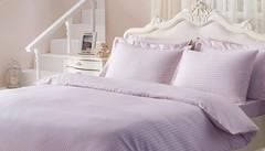 Постельное белье JAQUARD  лиловое и розовое  жаккард deluxe TIVOLYO HOME Турция