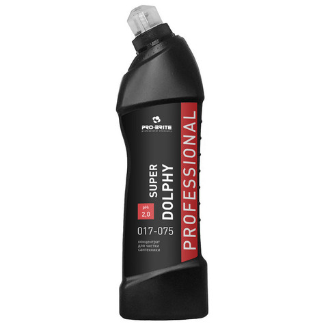Профессиональная химия Pro-Brite SUPER DOLPHY 0,75л(017-075)д/чистк.сантехн