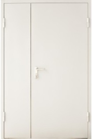 Дверь входная Алмаз ДМП 02/60, 1 замок, 1,2 мм  металл, (RAL 7035+RAL 7035)