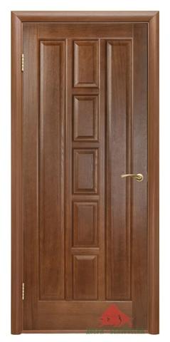 Дверь Двери Белоруссии Квадро ПГ, цвет каштан, глухая