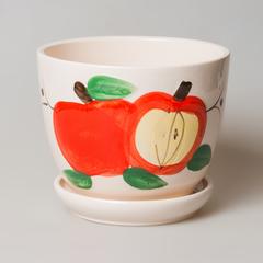 Горшок с яблоками , арт. 12803-1