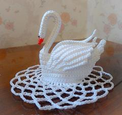 Лебедь одиночный