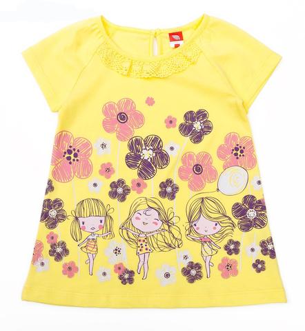 Cherubino Платье ясельное CSB61823 желтое