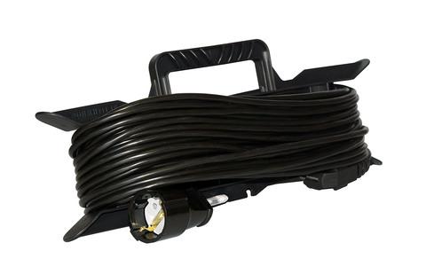 Удлинитель электрический на рамке 40 м 1 розетка (1,5)