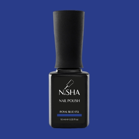 Гель-лак Nisha Royal Blue 051
