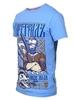 Футболка Варгградъ мужская голубая  «Лихие люди»