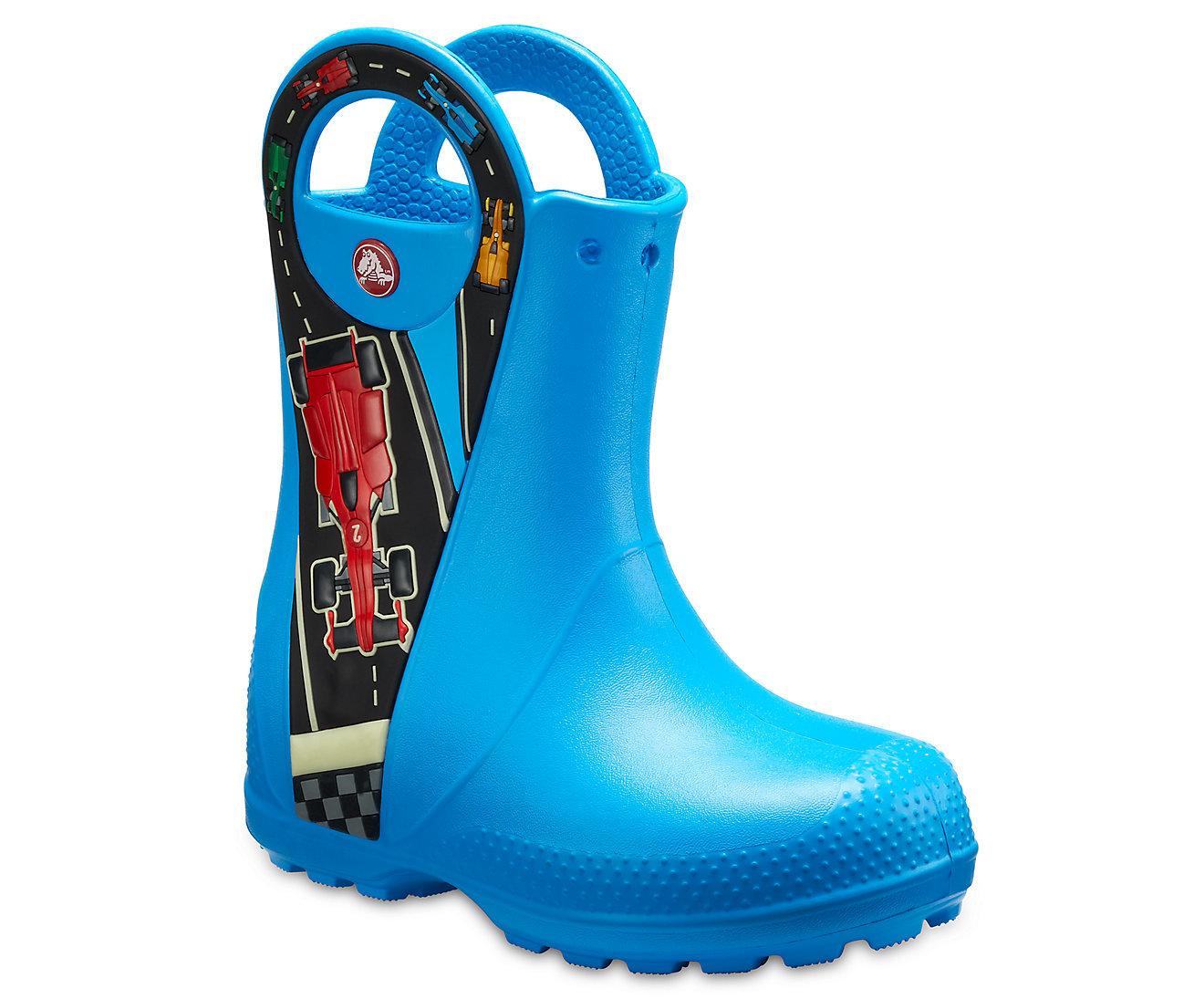 Сапоги Crocs Handle It Rain Boot Ocean