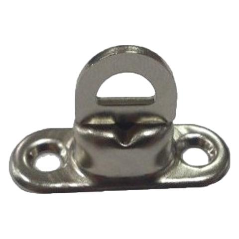 Скоба малая поворотная 17 х 11 мм, никель