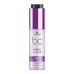 Бустер с кератином для гладкости волос Schwarzkopf BC Bonacure Fibre Clinix Booster Keratin Smooth Perfect