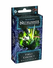 Android Netrunner LCG: First Contact Data Pack (Lunar Cycle)