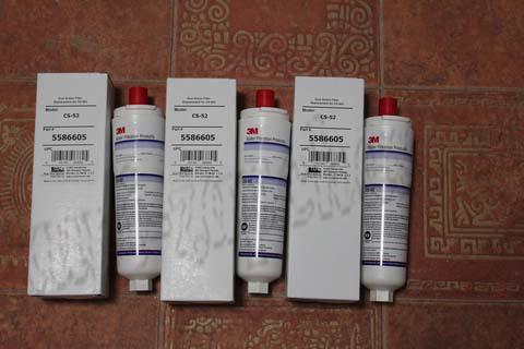 Водяной фильтр CS-52 для холодильников Bosch,Siemens,Neff,GAGGENAU