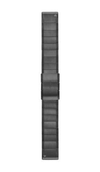 Стальной браслет Garmin QuickFit 22 мм серый
