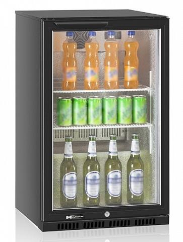 фото 1 Холодильный барный шкаф Hurakan HKN-DB125H на profcook.ru