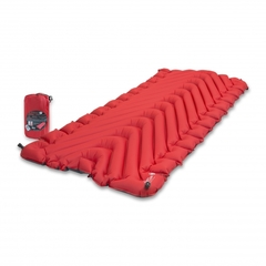 Надувной коврик Klymit Insulated Static V Luxe pad Red, красный (06LIRd01D)