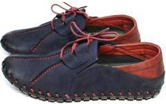 Туфли мокасины мужские Luciano Bellini 23406-00 LNBN.
