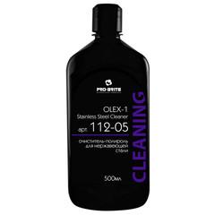 Профессиональная химия Pro-Brite OLEX1 Stainless Steel Cleaner 0,5л(112-05)