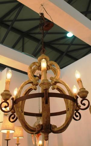 vintage chandelier  01-89 ( by Funky Vintage )