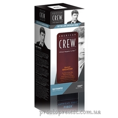 American Crew Get The Look Daily Shampoo + Fiber Duo - Набор