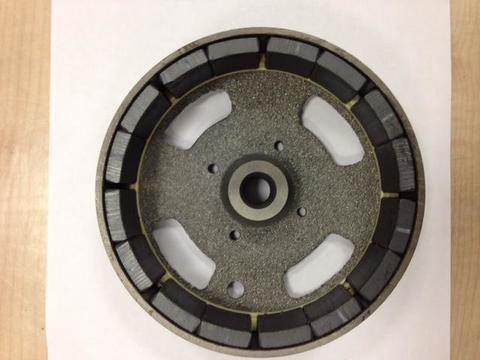 Якорь DDE (ротор) DPG1101i чугунный нового образца под коленвал GG950/DPG1201i