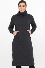 Платье Skinny темно-серое