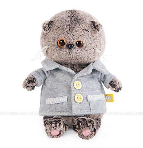 Басик BABY в сером пиджачке BB-021