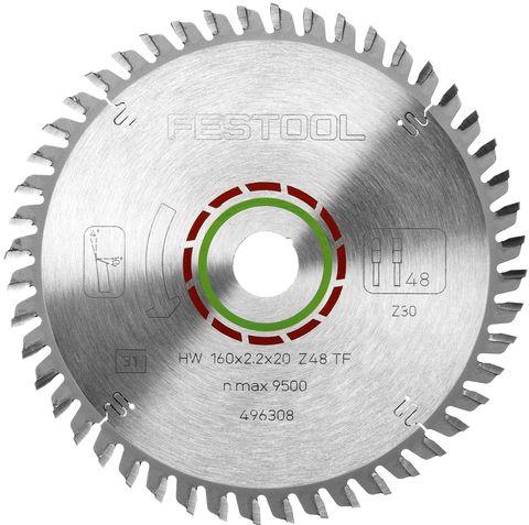 Пильный диск FESTOOL специальный для ламината 160x2,2x20 TF48