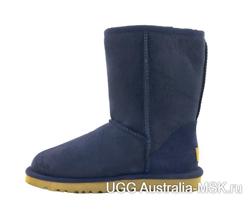 UGG Classic Short Blue