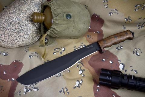Охотничий нож Кайман Черный Орех