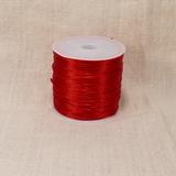 Спандекс плоского сечения, красный, 0.7 мм (1 метр)