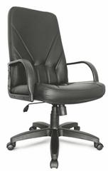 Кресло на колесах Менеджер стандарт кожа черная